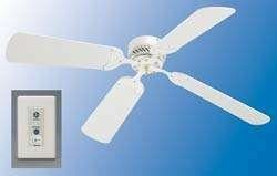 12v RV Ceiling Fan With 42 Inch Blades – White – 410NDC1242WWH