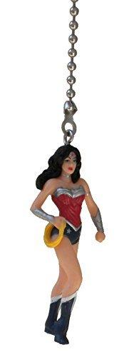 DC & Marvel comics SUPER HERO superhero character Ceiling FAN PULL light chain (Wonder Woman)