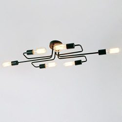 LightInTheBox 60W Flush Mount Modern/Contemporary LED Chandeliers Vintage / Retro / Country Pain ...