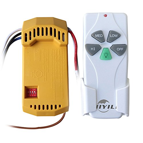 Hiyill Universal Ceiling Fan Amp Light Wireless Remote