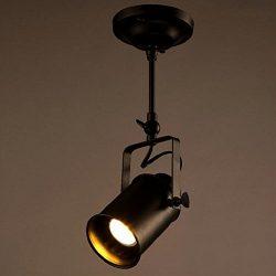 Rustic Adjustable LED E26/E27 Stage Spotlights Track Lighting (1 head)
