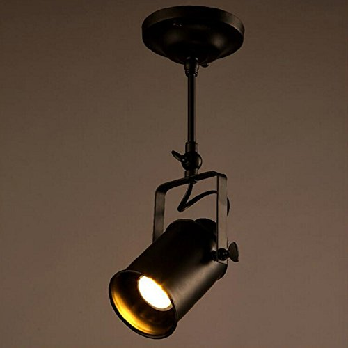 Movable Led Track Lighting: Rustic Adjustable LED E26/E27 Stage Spotlights Track