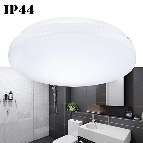 B-right 15W Round Waterproof Flush Mount LED Ceiling Light