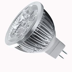 SODIAL(R) 4W Dimmable MR16 LED Bulb/3200K Warm White LED Spotlight/50 Watt Equivalent Bi Pin GU5 ...
