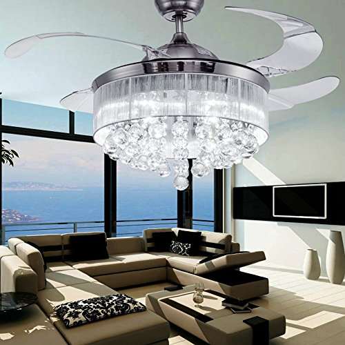 Colorled Ceiling Flush Mounted Light Kit Crystal Silver