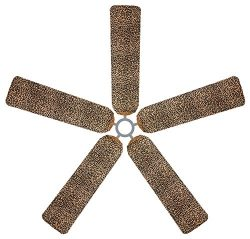Fan Blade Designs Baby Leopard Print Ceiling Fan Blade Covers
