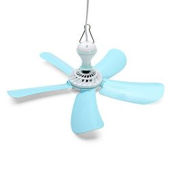 Winnerbe 220V 7W Energy-saving Electric Anti-mosquito Mini Detachable Ceiling Cool Fan