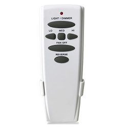 Ceiling Fan Remote for Hampton Bay UC7078T CHQ7078T Reverse Control kit