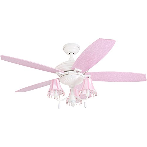 Prominence home 41111 01 addy shabby chic ceiling fan pink lamp prominence home 41111 01 addy shabby chic ceiling fan pink lamp shades 52 aloadofball Choice Image