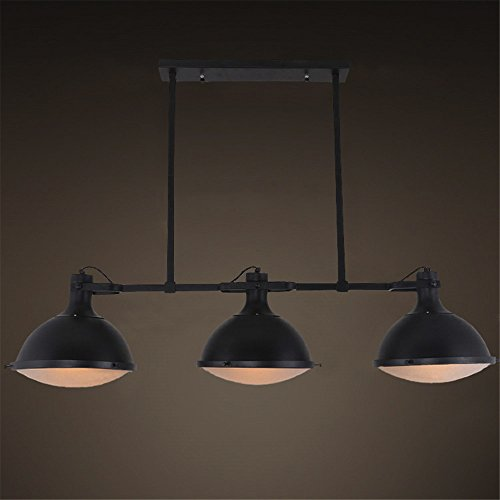 JINGUO Lighting Industrial 3 Lights Pendant Light