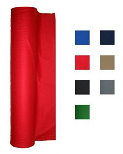 21 Ounce Pool Table Felt – Billiard Cloth – For an 8 Foot Table Red