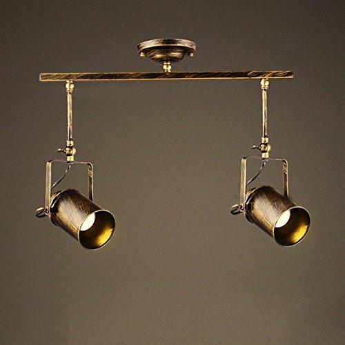 Leonlite 3 Pack Industrial Pendant Lighting For Kitchen: Motent Vintage Industrial 2 Way Spotlight Pendant Light 3
