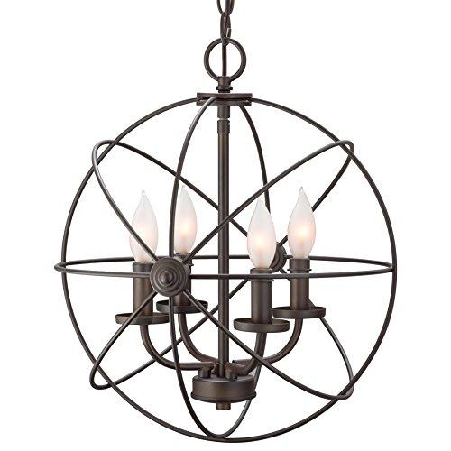 Revel Orbits Ii 15 Quot 4 Light Modern Sphere Orb Chandelier
