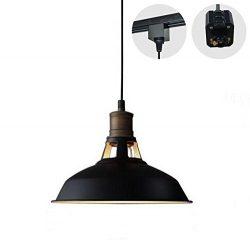 STGLIGHTING H-type 3 wire track light pendants Length 4.9 feet restaurant chandelier decorative  ...