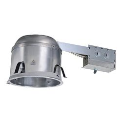 6 in. Aluminum Recessed Lighting Remodel IC Air-Tite Shallow Housing