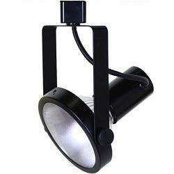 Direct-Lighting 50006 Black PAR38 Gimble Ring Line Voltage Track Lighting Head
