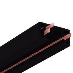 NICOR Lighting 8-Foot Track Rail Section, Black (10008BK)