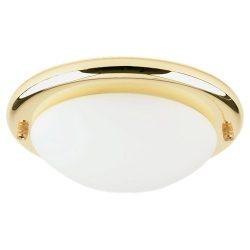 Sea Gull Lighting 16148BL, 1-Light Ceiling Fan Kit, Polished Brass