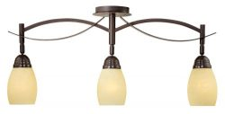 Modella Collection 31 1/4″ Wide Triple Ceiling Light