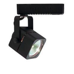 Jesco Lighting HLV10250BK Mini Deco 102 Series Low Voltage Track Light Fixture, 50 Watt, Black F ...