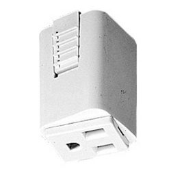 Outlet Adapter T33WH for Juno Single Circuit Track