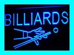 Billiards Pool Room Table Bar Pub LED Sign Night Light i309-b(c)