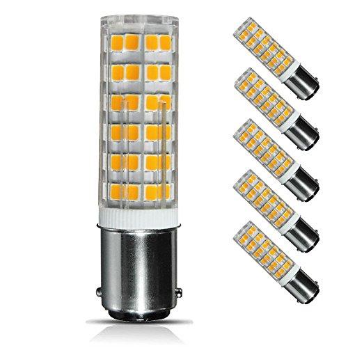 6w Ba15d Led Bulb Dimmable 60w Equivalent Ac110v 120v