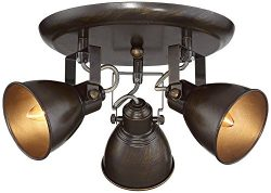 Pro Track Abby 3-Light Bronze Ceiling Track Fixture