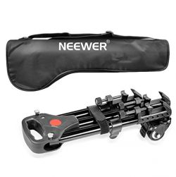 Neewer Photography Professional Heavy Duty Tripod Dolly with Rubber Wheels and Adjustable Leg Mo ...