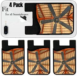 Liili Phone Card holder sleeve/wallet for iPhone Samsung Android and all smartphones with remova ...