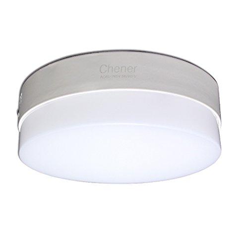 Chener Modern Led Flush Mount Ceiling Light 20w Warm White 2700k Round 7 Inch Downlight For