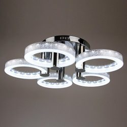 Gracelove European Modern Style LED Acrylic Chandeliers Ceiling Light Lamp With 5 Lights