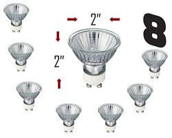 SleekLighting GU10, 35 Watt, Halogen 120Volt, Light Bulb Spotlight, Recessed, Track Lighting/Wit ...