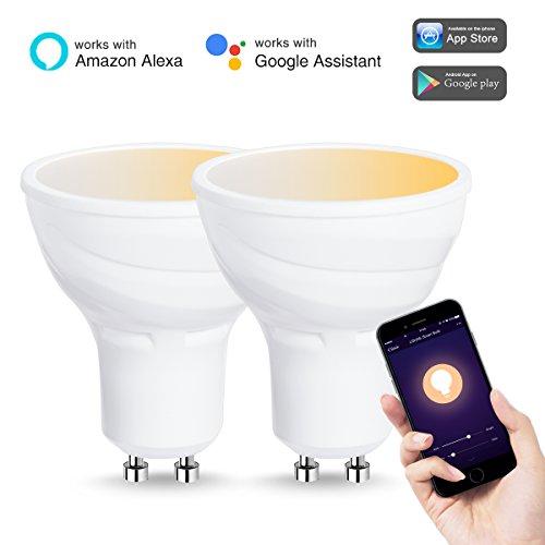 Lohas Dimmable Gu10 50w Halogen Bulb Equivalent Smart