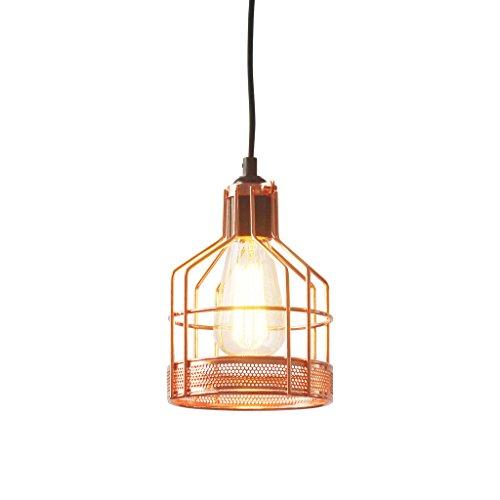 Light Society Halloway Mini Pendant Light, Rose Gold