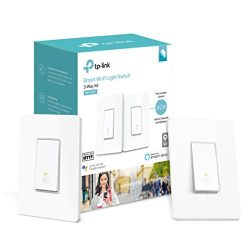 Kasa Smart Wi-Fi Light Switch, 3-Way Kit by TP-Link – Control Lighting from Anywhere, Easy ...