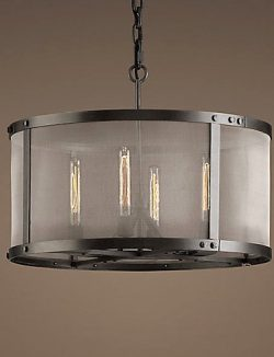 Premiumlight,Creativelight,Minimalist chandelier60W E27 4-light Pendent Light with Transparent ...