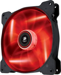 Corsair Air Series SP 140 LED Red High Static Pressure Fan Cooling – single pack