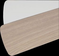 Quorum 5255206125, Five Reversible Washed Oak / White Blades, 52″ Blade Span
