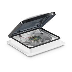 Fan-Tastic Vent 801200 ABS LID Vent Create-A-Breeze 3-Speed Manual Crank ABS Smoke Dome