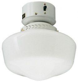 Craftmade OLK3CFL-W 1 Light Outdoor Bowl Fan Light Kit