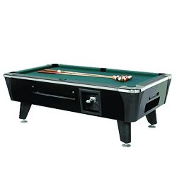 Valley-Dynamo Dynamo Black Sedona Coin Operated 8′ Pool Table