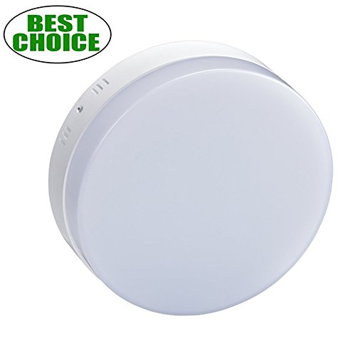 W-LITE Surface Mount Round Led Ceiling Light 12W 960LM Flushmount Panel Lighting Super Bright Do ...