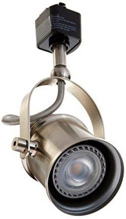 Lithonia Lighting LTHSPLT MR16GU10 LED 27K BN M4 2700 K Spot Light LED Lamp Track Head, Brushed  ...