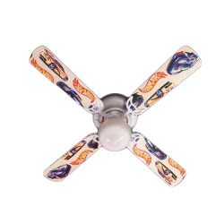 Ceiling Fan Designers Ceiling Fan, Hot Wheels, 42″