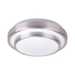 AFSEMOS 8.3-Inch LED Flush Mount Ceiling Light, 12W 960LM 80W Incandescent (22W Fluorescent) Bul ...