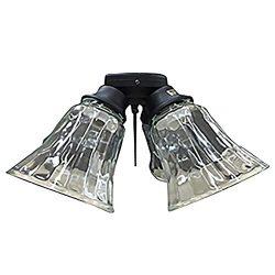 Harbor Breeze Black Finish Ceiling Fan Light Kit