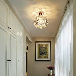 Hsyile Lighting KU300163 Aisle,Corridor,Fitting Room,Creative,Small Bedroom Lamp,Nordic Crystal  ...