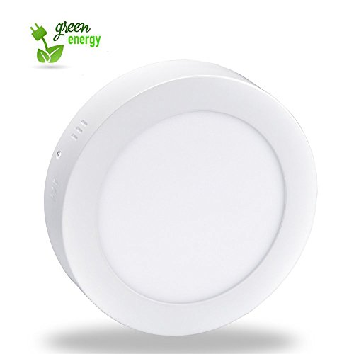 24w Led Dimmable Ceiling Light Round Flush Mounted Fixture: Surface Mount Led Ceiling Light-24W Round Led Panel Light