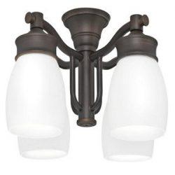 Casablanca 99090 Outdoor 4 Light Fixture, Brushed Cocoa